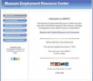 3. Museum Employment Resource Center