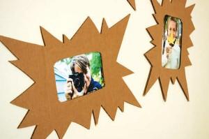 5. Cardboard Frames